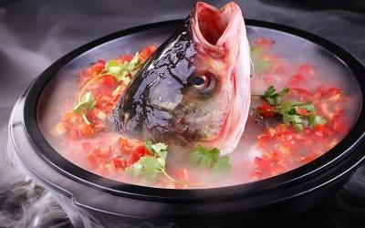 坛香酸菜鱼头