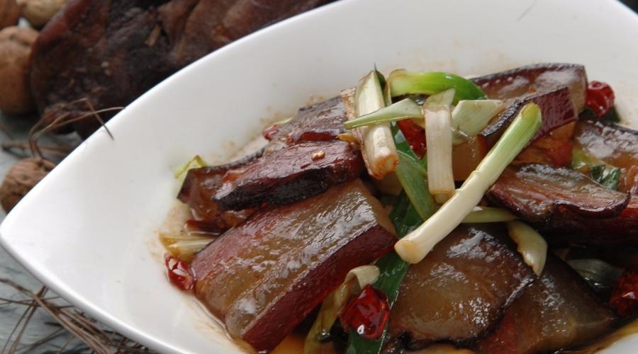 小炒湘西腊肉