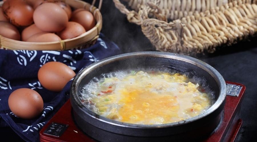 石锅肉蛋香